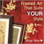 Asian Framed Art