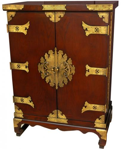 Asian Style Furniture Wine Cabinet