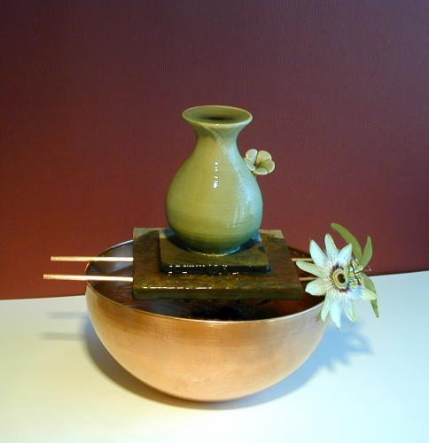 Indoor water fountains japanese spring - Japanese indoor water fountain ...