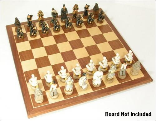 ninja chess pieces
