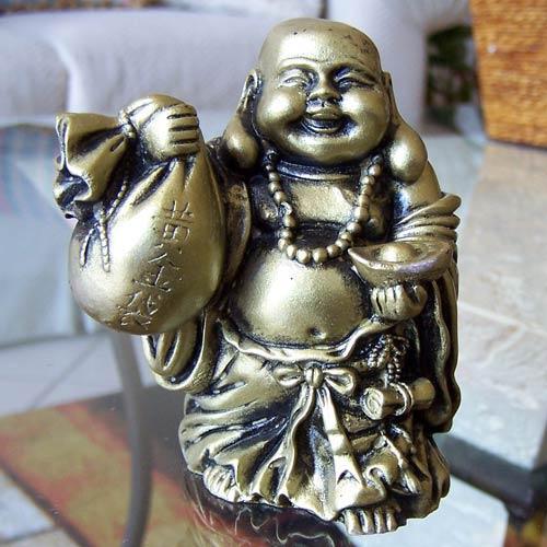 Buddhist Statues Lucky Money Buddha