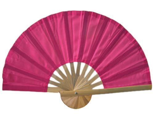 Asian Hand Fans Pink Bamboo Hand Fan