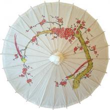 Cherry Blossom Parasol, Cherry Blossom Oiled Paper Parasol