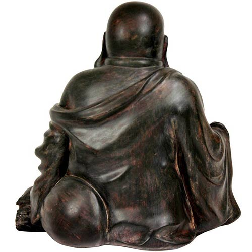 Buddhist statues 11 sitting lucky buddha statue for Does buddha bring good luck