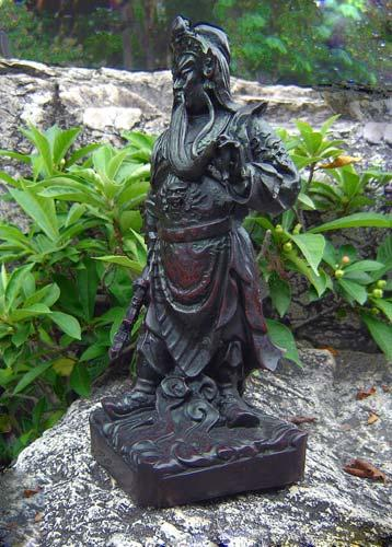 Resin Statues Chinese Warlord