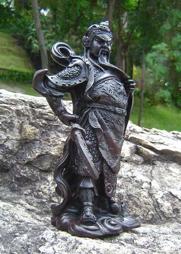 Resin Statues Kwan Kun 9 Inch