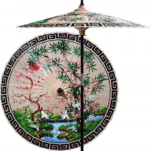 Asian Spring (Sand) :: Outdoor Patio Umbrellas