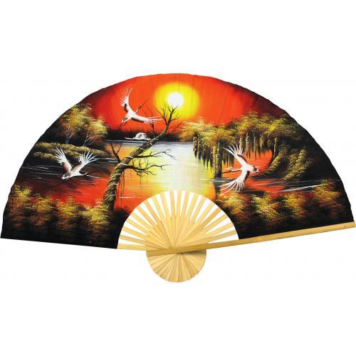 Asian Sunrise :: Oriental Wall Fans