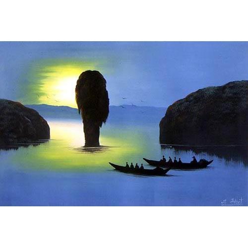 Passage :: Oriental Paintings