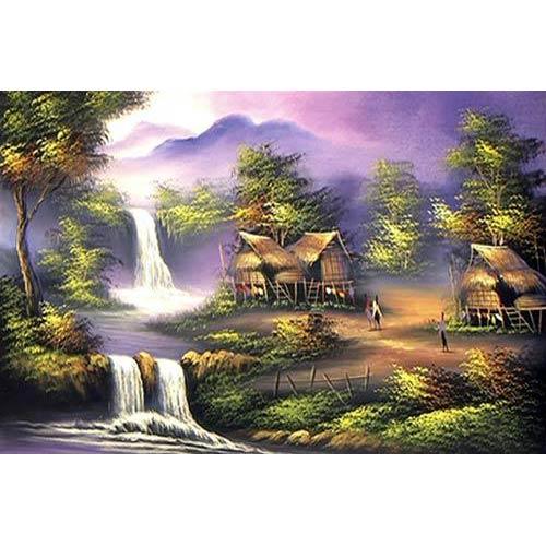 Thai Cottage :: Oriental Paintings