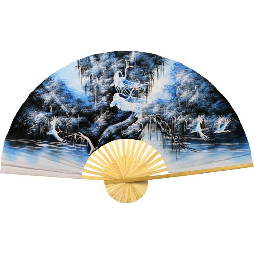 Exultation in Blue :: Oriental Wall Fans