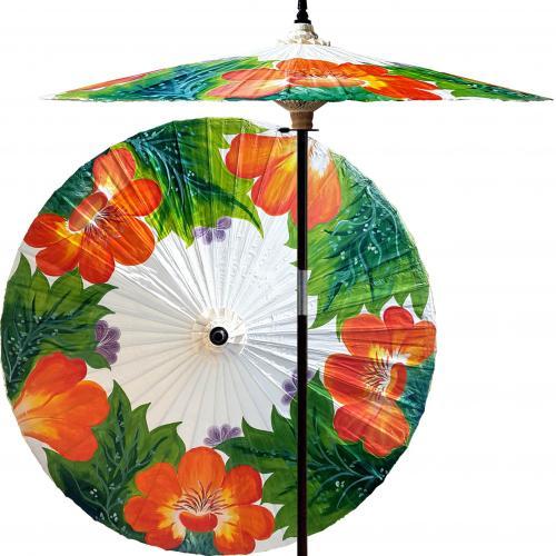Far East Garden (Beijing White) :: Outdoor Patio Umbrellas