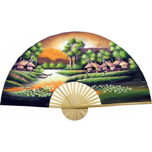 Golden Village :: Oriental Wall Fans