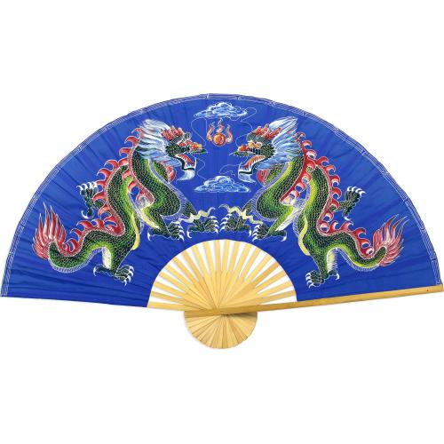 Blue Dragons :: Chinese Wall Fans