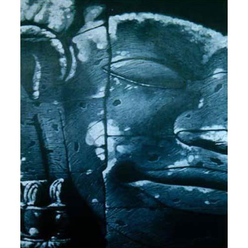 Blue Stone Buddha Painting :: Buddha Paintings