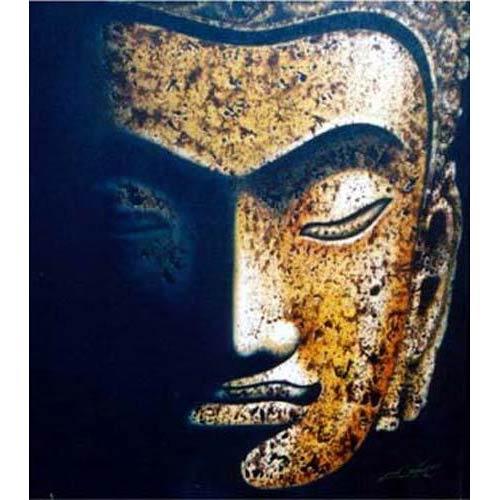 Faded Buddha Painting :: Buddha Paintings