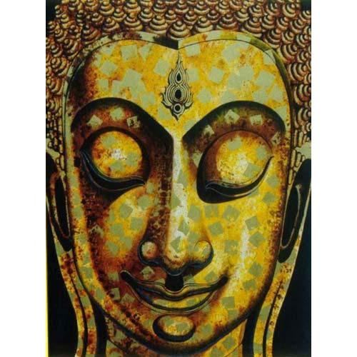 Happy Buddha :: Buddha Paintings