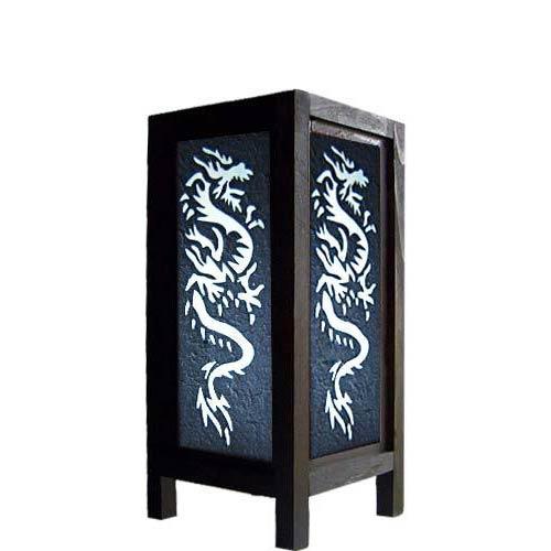 "11"" Chinese Dragon Lamp"