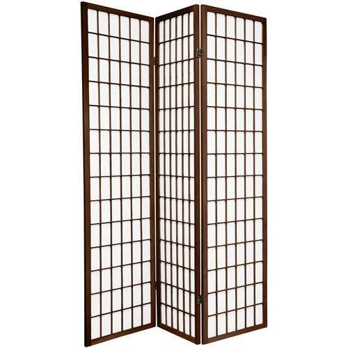 Japanese Window Screen (Walnut Finish)