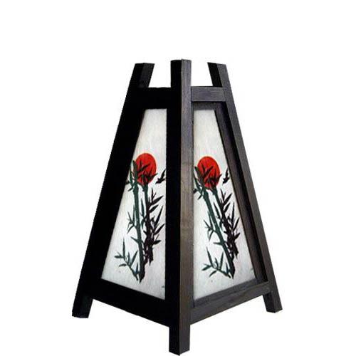 """10.5"""" Bamboo Sun Lamp"""