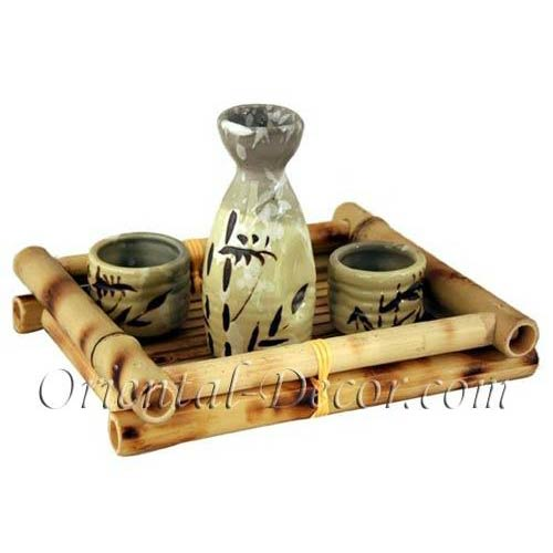 Ancient Spring Saki Set