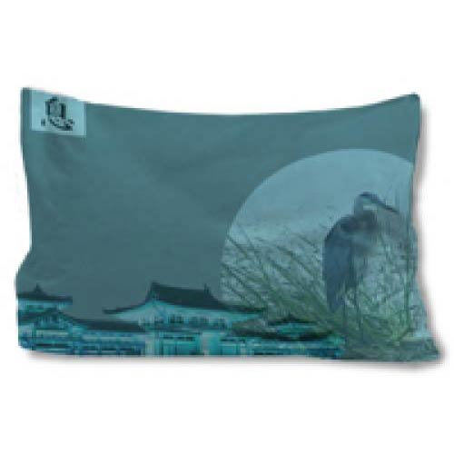 Mystic Cranes Pillow Case
