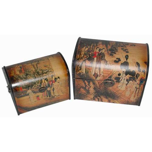 Ladies Gathering Storage Boxes (Set of Two)