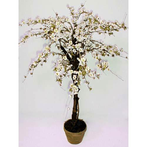 3 foot White Cherry Blossom Tree