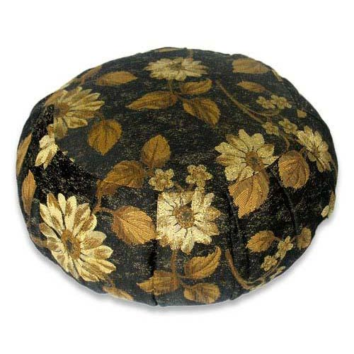 Damask Meditation Zafu Cushion