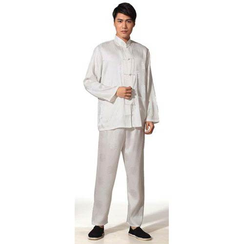 Natural Silk Tai Chi Uniform
