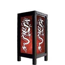 11 inch Fiery Dragon Lamp