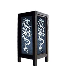 11 inch Chinese Dragon Lamp