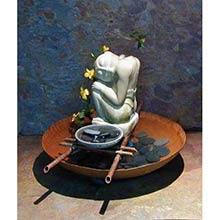 14 inch Copper Bowl Divine Rain Fountain