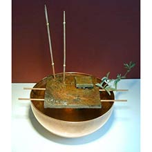Copper Bamboo Fountain