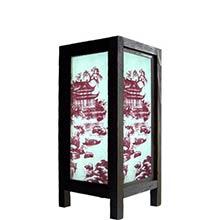 11 inch Asian Pagoda Lamp