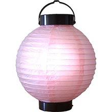 8 inch Pink Glowing Lantern