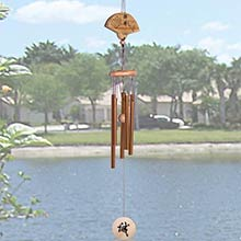Geisha Fan Windchime