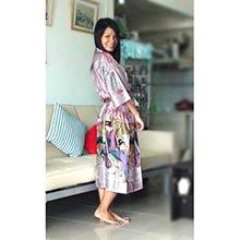 Pink Geisha Kimono Robe