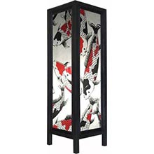 Large 20 inch Chinese Koi Fish Lamp