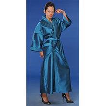 Blue Japanese Kimono Robe
