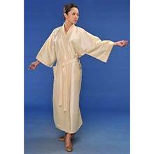 Cream Japanese Kimono Robe