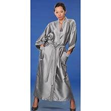 Silver Japanese Kimono Robe