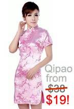 Chinese blouses, qipao, cheongsam and kimono