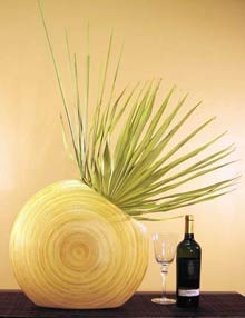 Wooden Table Vases