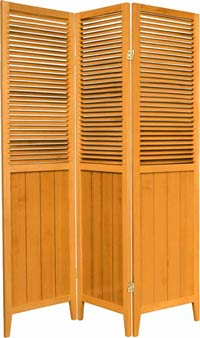 Wooden Shutter Screens