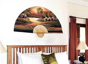 Decorative Wall Fans asian decor, oriental wall fans and chinese umbrellas