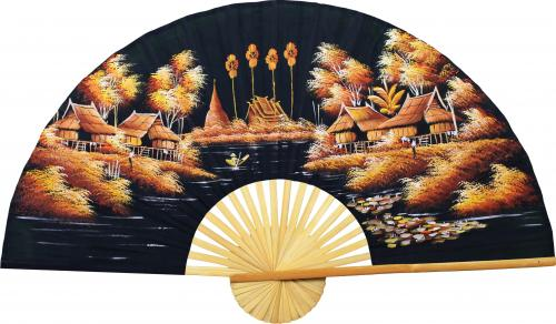 Guilded Morning :: Oriental Wall Fans