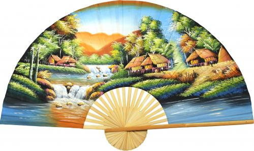 Tranquility :: Oriental Wall Fans