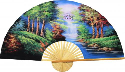 The Wood :: Oriental Wall Fans