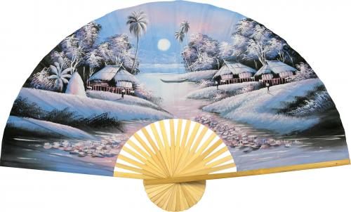 Night in Asia :: Oriental Wall Fans